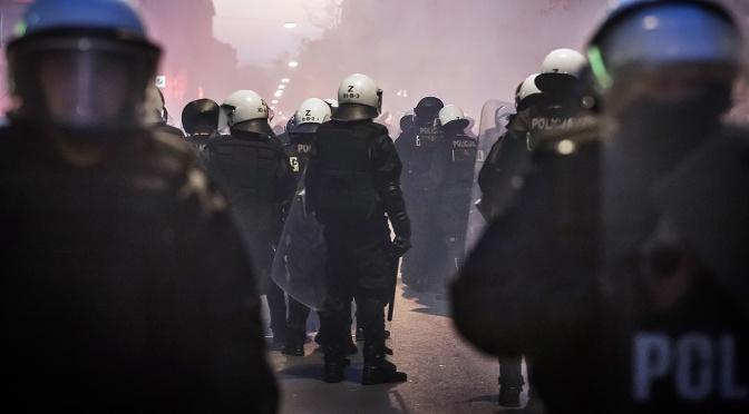 Rechte Ausschreitungen in Warschau 2013