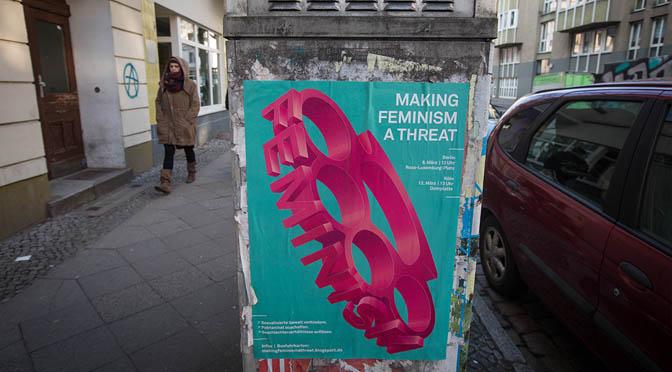 Ich brauche Feminismus, weil …